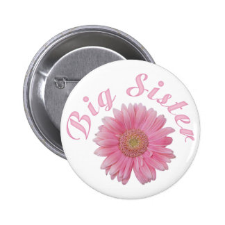 Gerbera Big Sister 6 Cm Round Badge