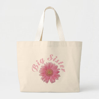Gerbera Big Sister Large Tote Bag