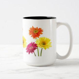 Gerbera Daisies Mugs