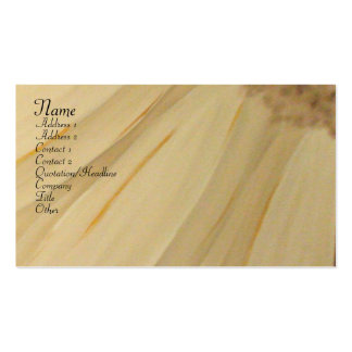 Gerbera Daisy Business Card