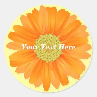 Gerbera Daisy Customisable Sticker