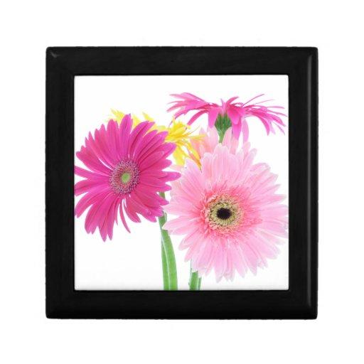 Gerbera Daisy Flowers Keepsake Box