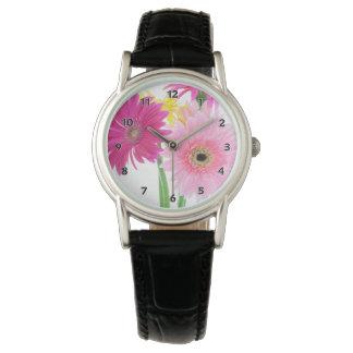Gerbera Daisy Flowers Watch