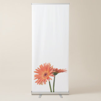 gerbera daisy in the vase retractable banner