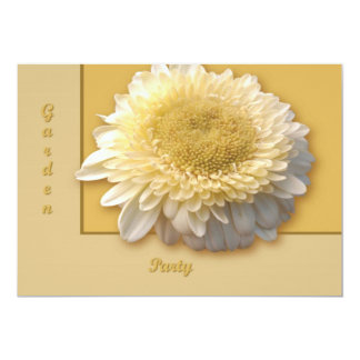 "Gerbera Daisy 5"" X 7"" Invitation Card"