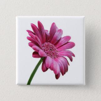 Gerbera Daisy Square Pin