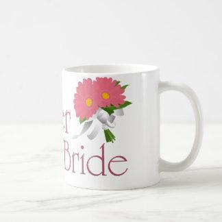 Gerbera Daisy Wedding Coffee Mugs