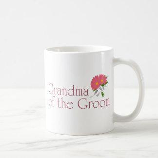 Gerbera Daisy Wedding Mug