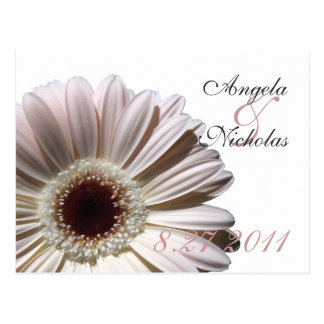 Gerbera Daisy/ Wedding Response Card