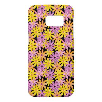 Gerbera flowers pattern, background