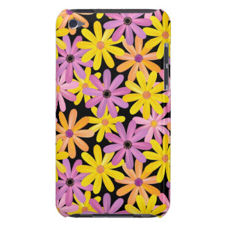 Gerbera flowers pattern, background barely there iPod cases