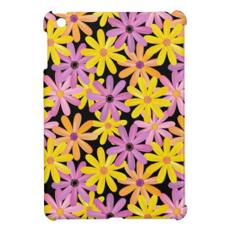 Gerbera flowers pattern, background case for the iPad mini