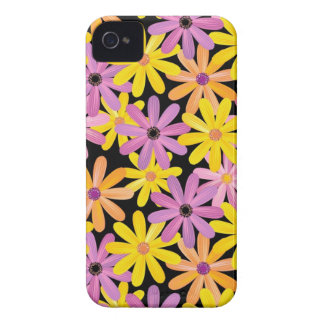 Gerbera flowers pattern, background Case-Mate iPhone 4 cases