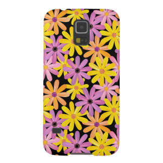Gerbera flowers pattern, background cases for galaxy s5