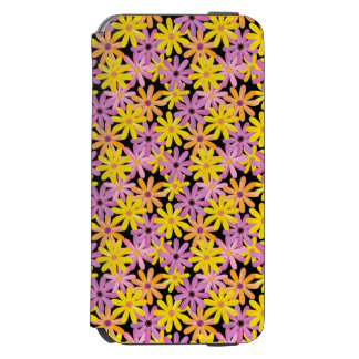 Gerbera flowers pattern, background incipio watson™ iPhone 6 wallet case
