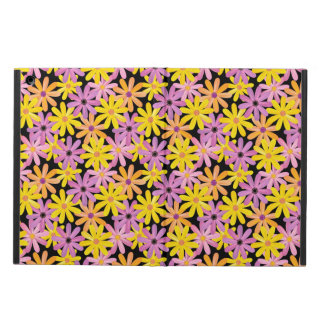 Gerbera flowers pattern, background iPad air cover