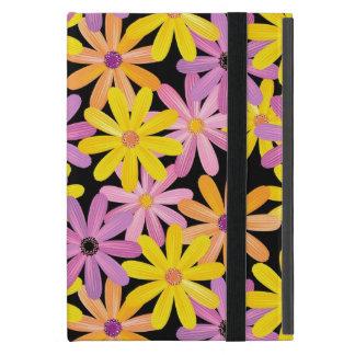 Gerbera flowers pattern, background iPad mini case