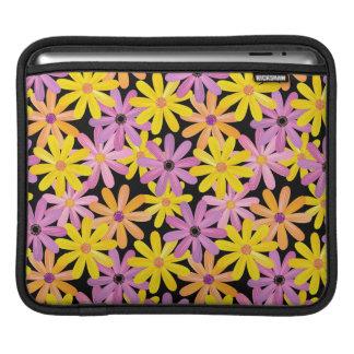 Gerbera flowers pattern, background iPad sleeve
