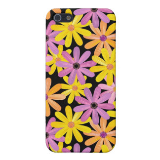 Gerbera flowers pattern, background iPhone 5/5S covers