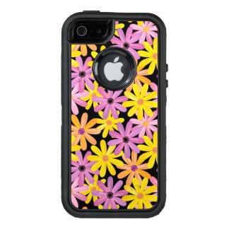 Gerbera flowers pattern, background OtterBox iPhone 5/5s/SE case