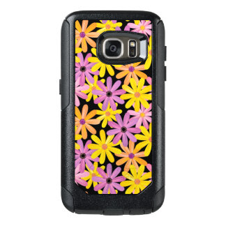 Gerbera flowers pattern, background OtterBox samsung galaxy s7 case