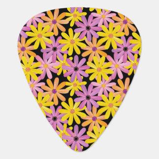 Gerbera flowers pattern, background plectrum