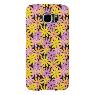 Gerbera flowers pattern, background samsung galaxy s6 cases