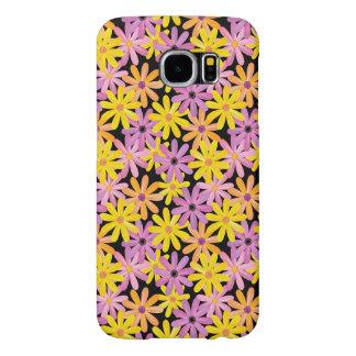 Gerbera flowers pattern, background samsung galaxy s6 cases