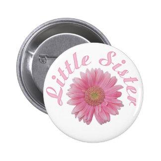Gerbera Little Sister 6 Cm Round Badge