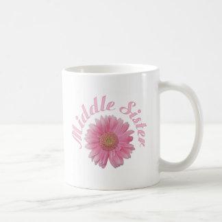 Gerbera Middle Sister Basic White Mug