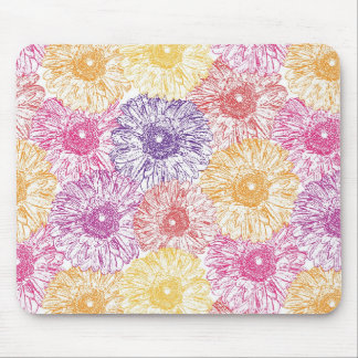 Gerbera mousepad