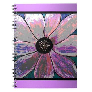 Gerbera Painted flower Notebook
