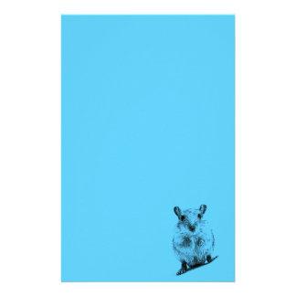 Gerbil Animal Baby Illustration Pet Gerbils Stationery Paper