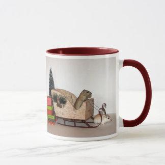Gerbil Christmas Mug