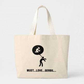 Gerbil Lover Large Tote Bag
