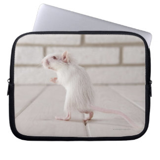 Gerbil standing laptop sleeve
