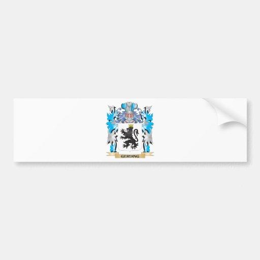 Gerding Coat of Arms - Family Crest Bumper Sticker