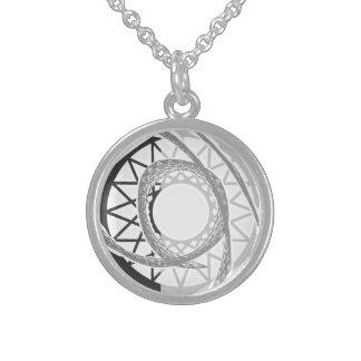 Gerey sun round pendant necklace