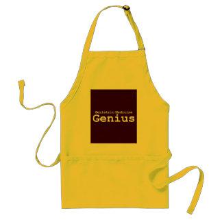 Geriatric Medicine Genius Gifts Apron