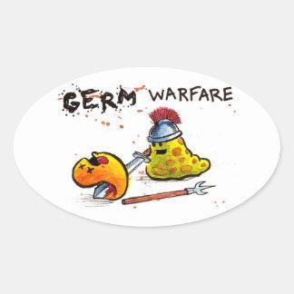 Germ Warfare Sticker