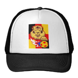 German African Soccer Lion Hats