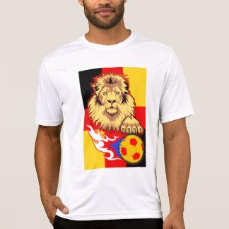 German African Soccer Lion Micro-Fiber T-Shirt