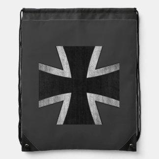 German Air Force Iron Cross insignia backpack