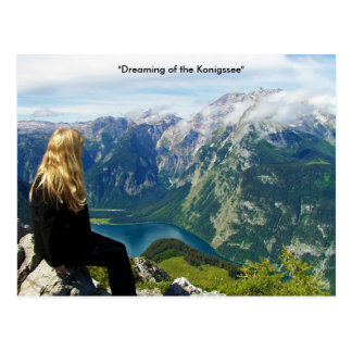 German Alps Post Card