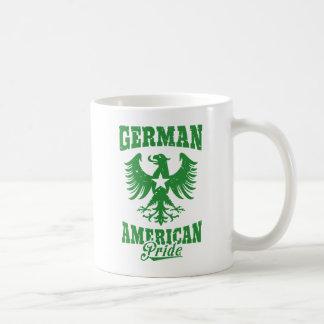 German American Eagle Emblem Basic White Mug