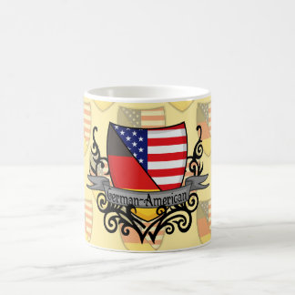 German-American Shield Flag Basic White Mug