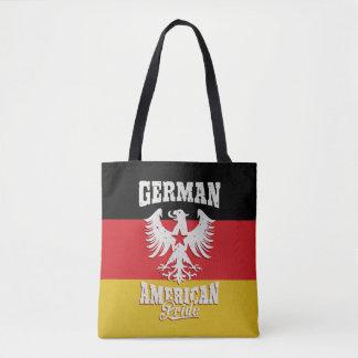 German American Vintage Eagle and Flag Tote Bag