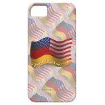 German-American Waving Flag iPhone 5 Cover