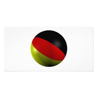 German ball photo cards
