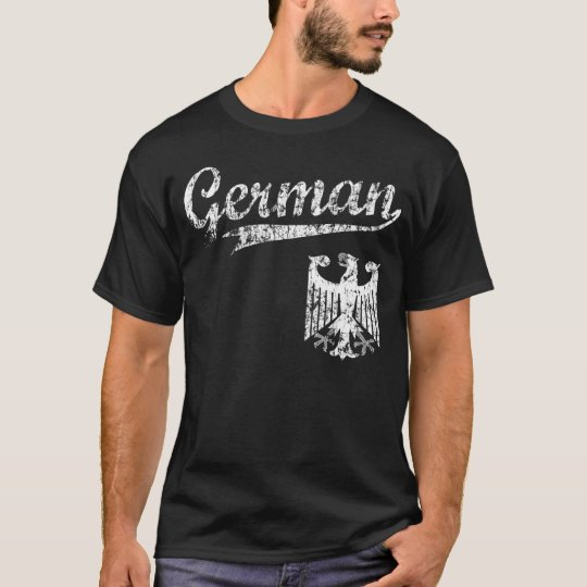 German Baseball Style t shirt